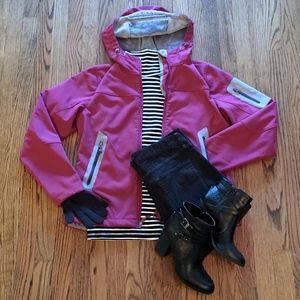 EDDIE BAUER Fleece Lined Hooded Jacket